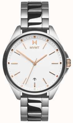 MVMT |科罗纳达女子|不锈钢手链|白色表盘 28000001-D