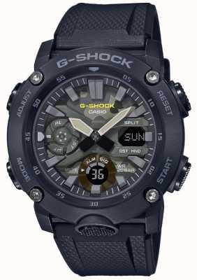 Casio G-shock |橡胶表带|迷彩表盘 GA-2000SU-1AER