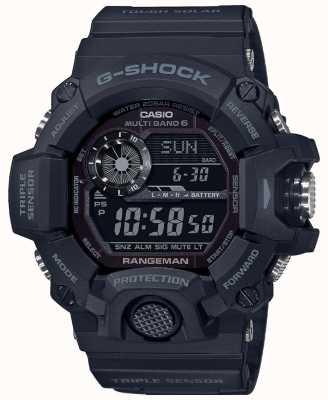 Casio G冲击游侠|停电艰难的太阳能无线电控制| GW-9400-1BER