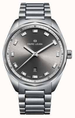 Favre Leuba 首席天空首席日期43灰色直径 00.10201.08.31.20