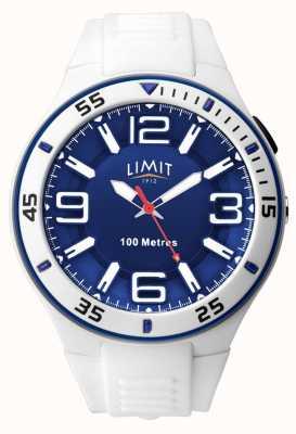 Limit 中性|白色橡胶表带|蓝色表盘 5763.65