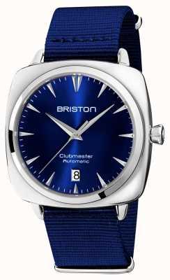 Briston Clubmaster标志性汽车|北约蓝色表带|蓝色表盘 19640.PS.I.9.NNB