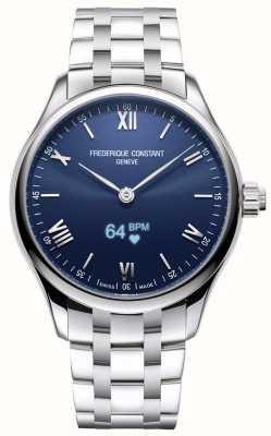 Frederique Constant 男装活力|智能手表|蓝色表盘|不锈钢 FC-287N5B6B
