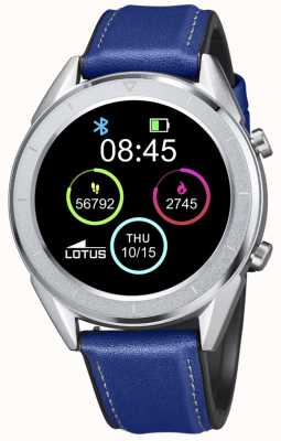 Lotus Smartime |男装蓝色皮革表带+免费表带 L50008/2