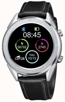 Lotus Smartime |男装黑色皮革表带+免费表带 L50008/3