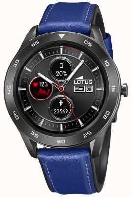 Lotus Smartime |男装蓝色皮革表带+免费表带|展示前 L50012/2EX-DISPLAY