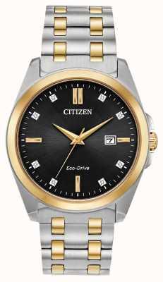 Citizen 男士Corso Diamonds Eco Drive两音手表 BM7107-50E