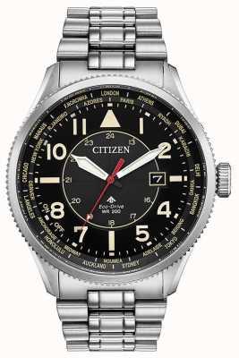 Citizen Eco-Drive Promaster夜鹰不锈钢腕表 BX1010-53E