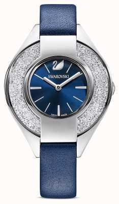Swarovski |水晶般的运动|蓝色皮革表带|蓝色表盘| 5547629
