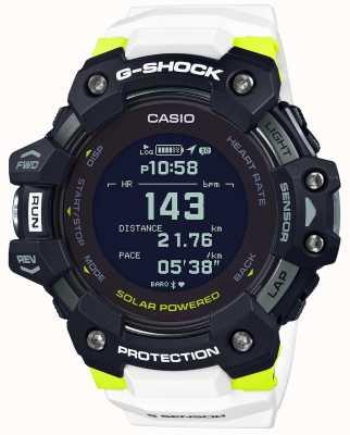 Casio G-shock | g队|心率监测器|蓝牙|白色| GBD-H1000-1A7ER