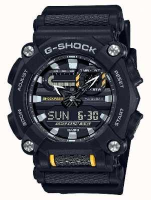 Casio G-shock |重型|世界时间|黑色树脂 GA-900-1AER