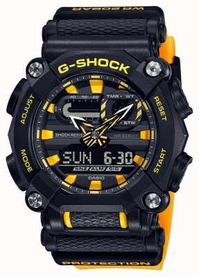 Casio G-休克 |重型|世界时间 |黄色 GA-900A-1A9ER