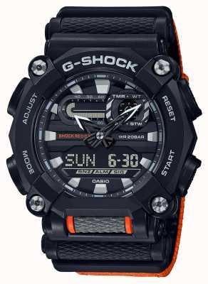 Casio G-shock |重型|世界时间|橘子 GA-900C-1A4ER