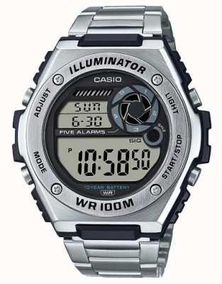 Casio 数码|照明器|不锈钢| MWD-100HD-1AVEF