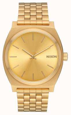 Nixon 时间出纳员|全金/金|黄金ip手链|金表盘 A045-511-00