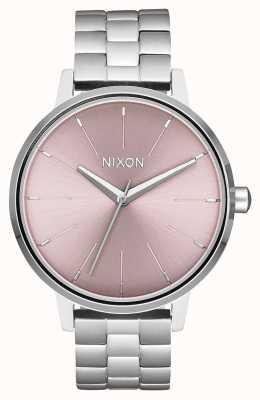 Nixon 肯辛顿 银/淡紫色 不锈钢表盘 A099-2878-00