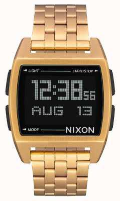 Nixon 基地|全金|数码|黄金ip钢手链 A1107-502-00