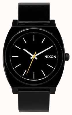 Nixon 时间出纳员p  黑色 黑色塑料表带 黑色表盘 A119-000-00