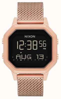Nixon 警笛米兰人 所有玫瑰金 数码 玫瑰金ip钢网  A1272-897-00
