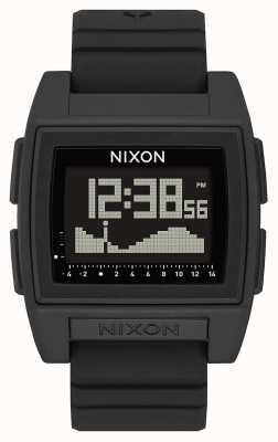 Nixon 基准潮专业版|黑色|数码|黑色硅胶表带| A1307-000-00