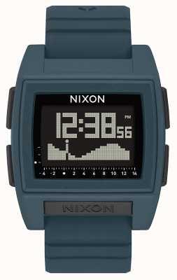 Nixon 基准潮专业版|暗板岩|数码|板岩色硅胶表带 A1307-2889-00