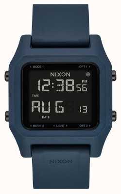 Nixon 主食|暗板岩|数码|板岩色硅胶表带 A1309-2889-00
