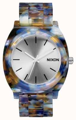 Nixon 醋酸盐柜 醋酸醋酸盐 银色表盘 A327-1116-00