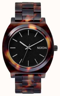 Nixon 醋酸盐柜 乌龟 黑色表盘 A327-646-00