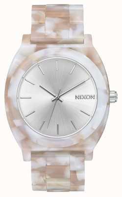 Nixon 醋酸盐柜 粉色/银色 银色表盘 A327-718-00