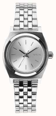 Nixon 小柜员 全银 不锈钢手链银表盘 A399-1920-00