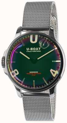 U-Boat Darkmoon 38毫米黑色SS金属手链 8471/MT