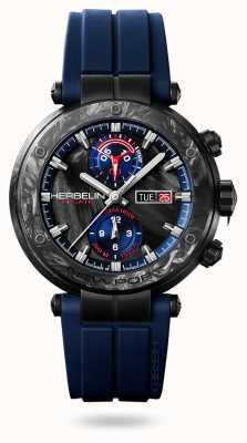 Michel Herbelin Newport régate carbone |蓝色橡胶表带|碳壳 288/CN45CB