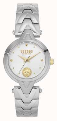 Versus Versace |女装| v_versus forlanini |不锈钢手链|银色表盘| VSPVN0620
