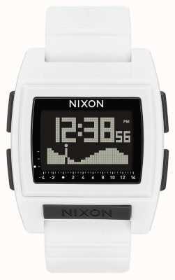 Nixon 基准潮专业版|白色|数码|白色硅胶表带 A1212-100-00