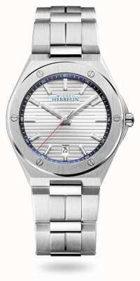 Michel Herbelin 卡玛拉帽|银表盘|不锈钢手链 12245/B42