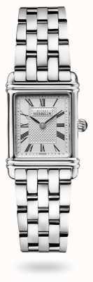 Michel Herbelin 装饰艺术|不锈钢手链|银色表盘 17478/08B2