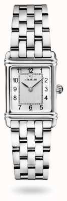 Michel Herbelin 装饰艺术|不锈钢手链|银色表盘 17478/22B2