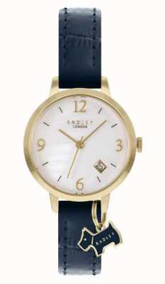 Radley |女装|海军蓝皮表带|白色珍珠母贝表盘| 高分辨率照片| CLIPARTO RY21212