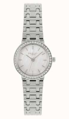 Radley 女士银钢手链|银色珍珠母贝表盘 RY4563