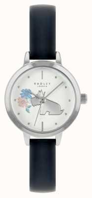 Radley 女士蓝色皮表带|白色表盘 RY21237A