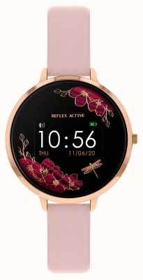 Reflex Active 系列3智能手表|裸粉色表带 RA03-2038