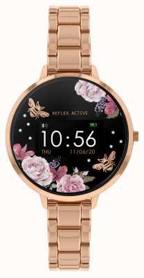 Reflex Active 系列3智能手表|玫瑰金钢手链 RA03-4012