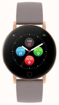Reflex Active 系列5智能手表|小时监视器|彩色触摸屏|灰褐色表带 RA05-2034