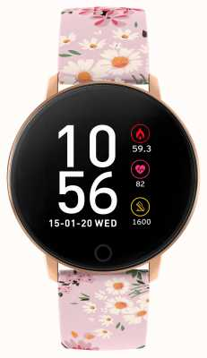 Reflex Active 系列5智能手表|小时监视器|彩色触摸屏|粉色表带 RA05-2062