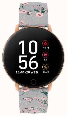 Reflex Active 系列5智能手表|小时监视器|彩色触摸屏|灰色表带 RA05-2064