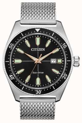 Citizen 男士Brycen生态驱动不锈钢 AW1590-55E