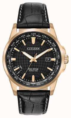 Citizen 男士环保驾驶世界计时器WR50 BX1003-08E