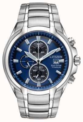 Citizen 男士环保型钛金属手链 CA0700-51L