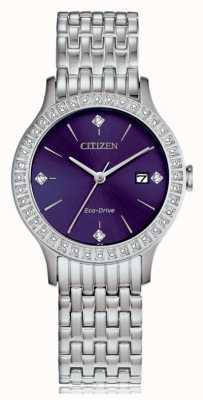 Citizen 女士环保水晶盒 FE1200-51L