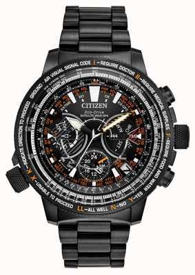 Citizen 男士Eco-Drive人造卫星GPS限量版 CC7015-55E